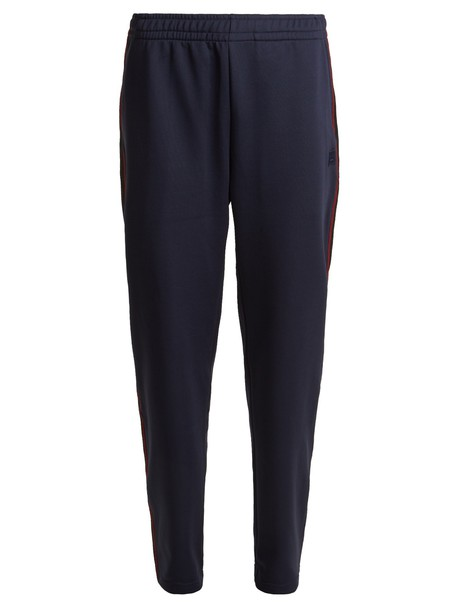 Acne Studios pants track pants navy