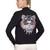 Tiger Embroidered Zip Cotton Sweatshirt
