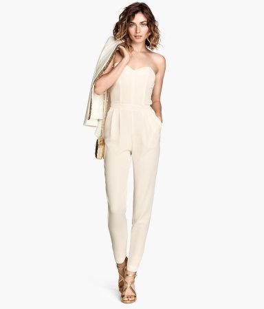 H&M Strapless Jumpsuit $39.95