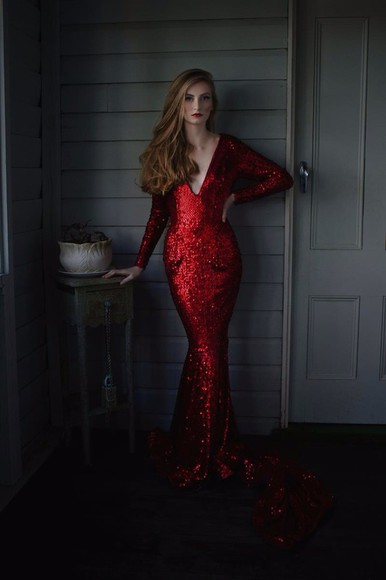 formal dress formal red dress glitter