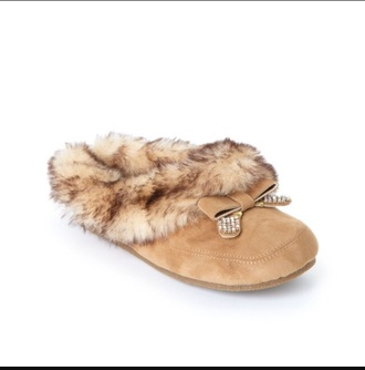 shoes slippers faux fur