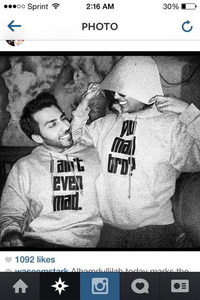 sweater couple sweaters dope black white grey