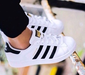 shoes adidas black and white sneakers low top sneakers