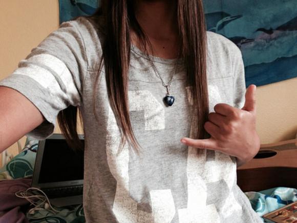grey shirt ca
