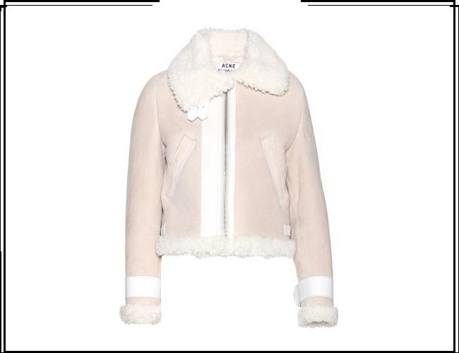 Acne Studios Vera Shearling Biker Jacket | Essential Wardrobe