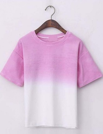 t-shirt girl girly girly wishlist pink tie dye