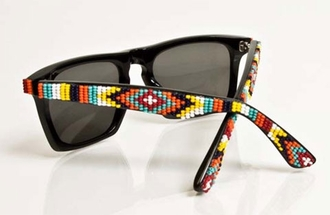 beaded navajo sunglasses