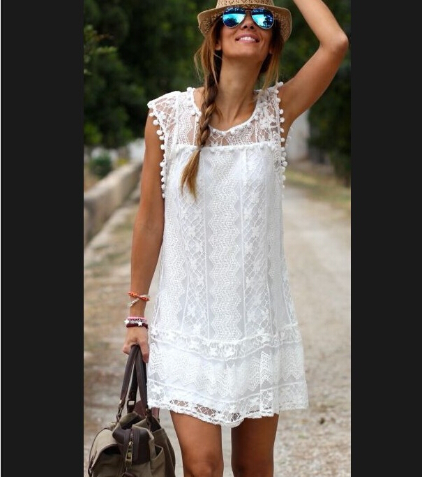 summer style 2015 vetement femme boho white embroidery dresses ropa mujer floral retro handmade. Black Bedroom Furniture Sets. Home Design Ideas