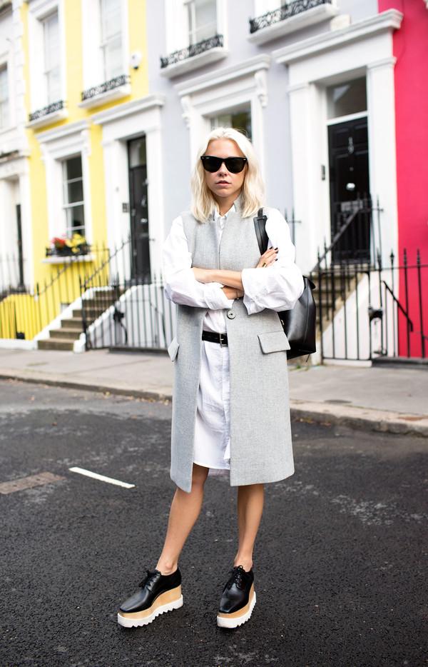 always judging blogger jacket sunglasses