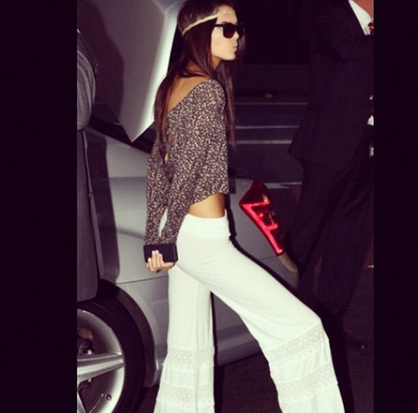 kendall jenner top pants