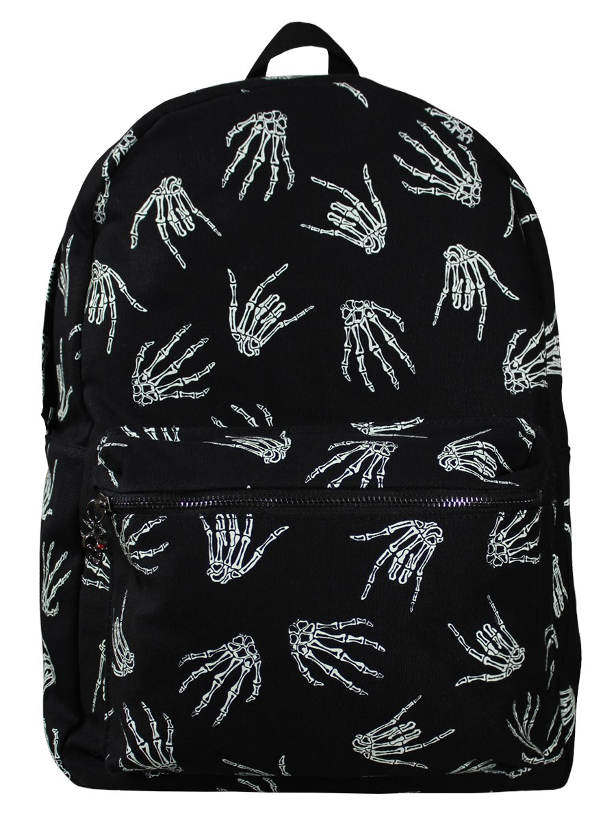 Banned Skeleton Rock Hand Backpack - Buy Online at Grindstore.com