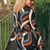 The Ultimate 70s-Style Patterned Midi Dress #iwillwearwhatilike - Not Dressed As Lamb