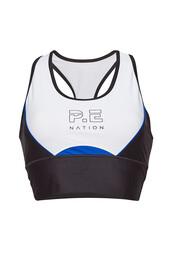 bra,sports bra,cropped,black,underwear