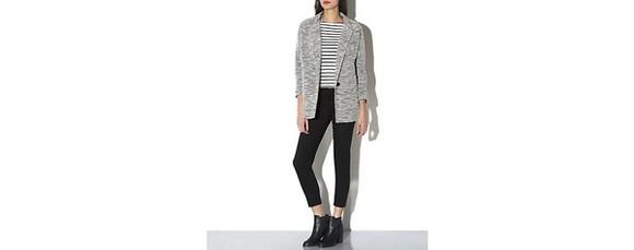 black white stripes top stripey