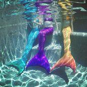 swimwear,mermaid,rainbow,tail