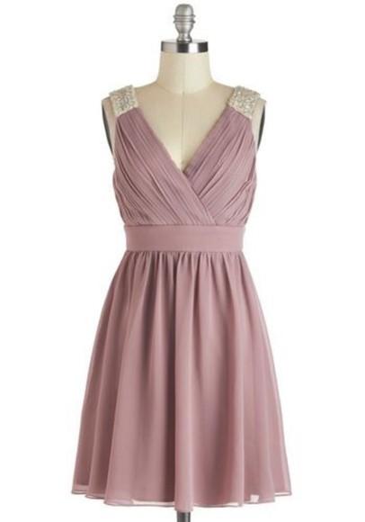 purple dress jewels bridesmaid cocktail dresses