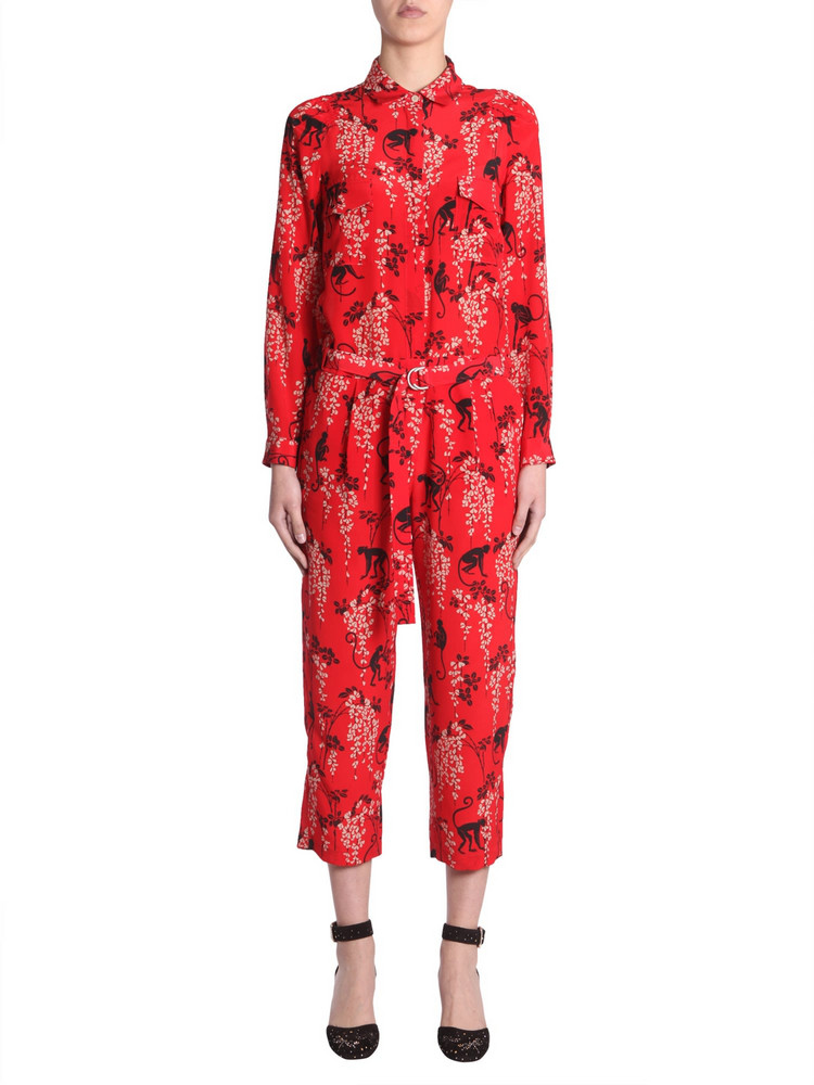 5fe2cfcc19 Red Valentino Monkey Print Jumpsuit - Wheretoget