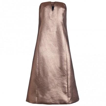 Riot bronze dress