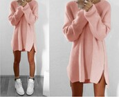 dress,light pink,beige,nude,navy,dark blue,zip,zipper dress,double slit,side slit,mini,mini dress,short dress,long sweater,loose,loose dress,loose sweater,grey,pink sweater,navy sweater,fall outfits,winter outfits,casual,casual dress,a line dress,knitted dress,long sleeves,holiday dress,urban,back to school,sexy,cute,cute dress,moraki,knitwear,knit,knitted sweater,oversized sweater,fall colors,streetstyle,streetwear,street,style,stylish,style me,holiday season,afshionista,girly,girly wishlist,girl,tumblr outfit,tumblr girl,tumblr top