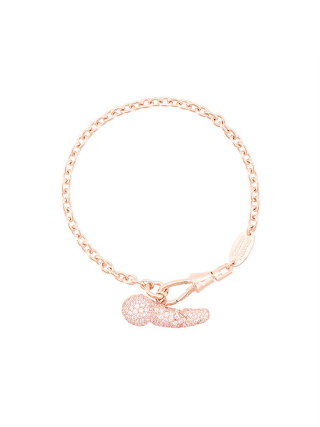 Vivienne Westwood rose gold rose women gold purple pink jewels