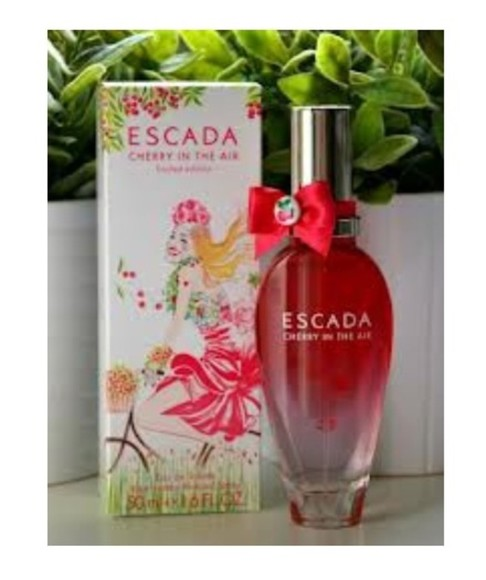 cherry cherries escada cherryescadaintheair perfume fruity