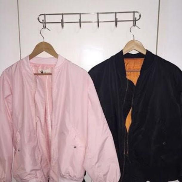 Jacket Clothes Tumblr Cute Bomber Jacket Aesthetic Baddies - Wheretoget
