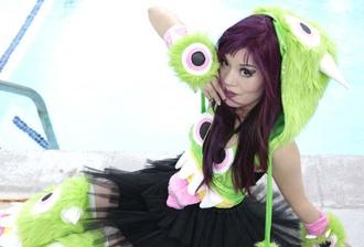hat lacarmina halloween costume monster fashion blog fashion blogger tokyo japanese japan asian cute kawaii goth hair clothes
