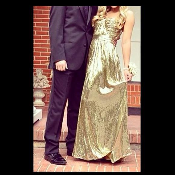 dress homecoming dress gold gold dress where did u get that long dress long prom dresses cute dress