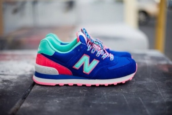 shoes blue new balances new balance