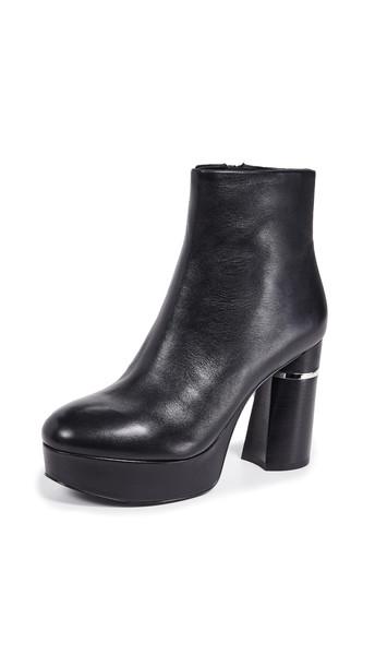 3.1 Phillip Lim Ziggy Platform Booties in black