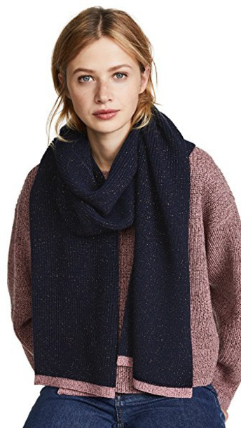Rag & Bone scarf navy