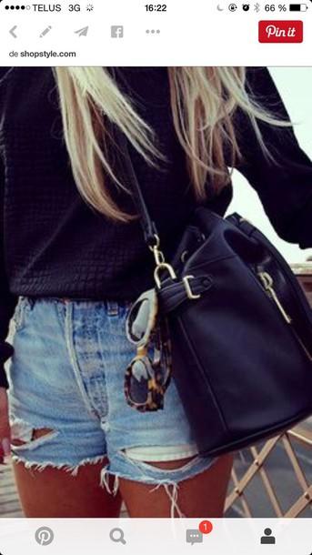 bag black purse