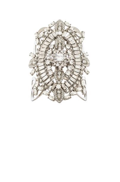 cuff metallic silver