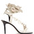 Ansel ruffle-trimmed leather sandals