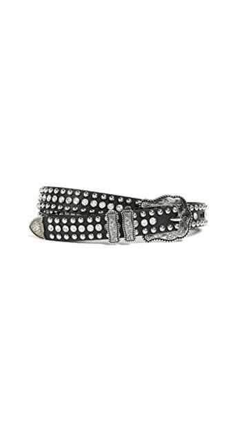 B-Low The Belt baby belt clear silver black