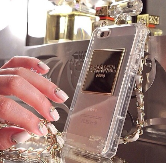 phone case iphone case iphone cover phone cases jewels gold chanel iphone 5 cases wantitnow