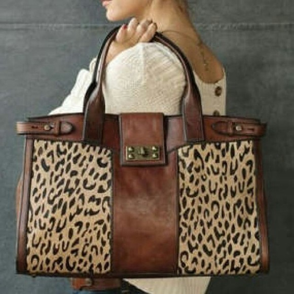 bag tote bag leopard print oversized bag