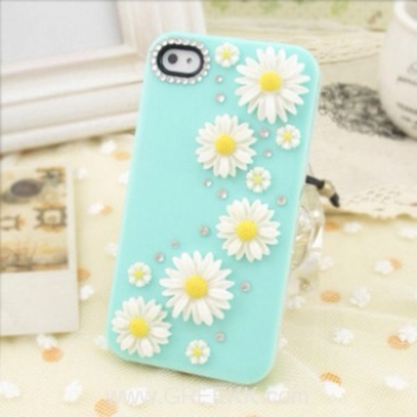 jewels daisy iphone case blue