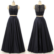 dress,prom,prom dress,special occasion dress,evening dress,long prom dress,event,long evening dress,bridesmaid,two piece dress set,two-piece,long,long dress,floor length dress,maxi,maxi dress,love,pretty,lovely,fabulous,gorgeous,beautiful,amazing,wow,cool,cute,cute dress,black,black dress,trendy,girly,women,girl,tulle dress,satin,dark,summer,princess dress