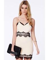 eyelash lace,nude dress,lace dress,bodycon dress,fancy dress,dress,missguided
