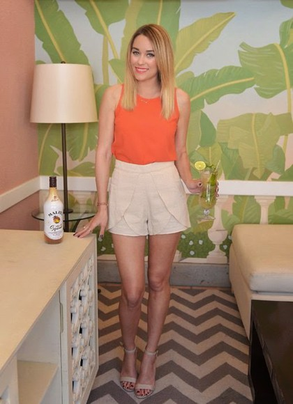 lauren conrad shorts top