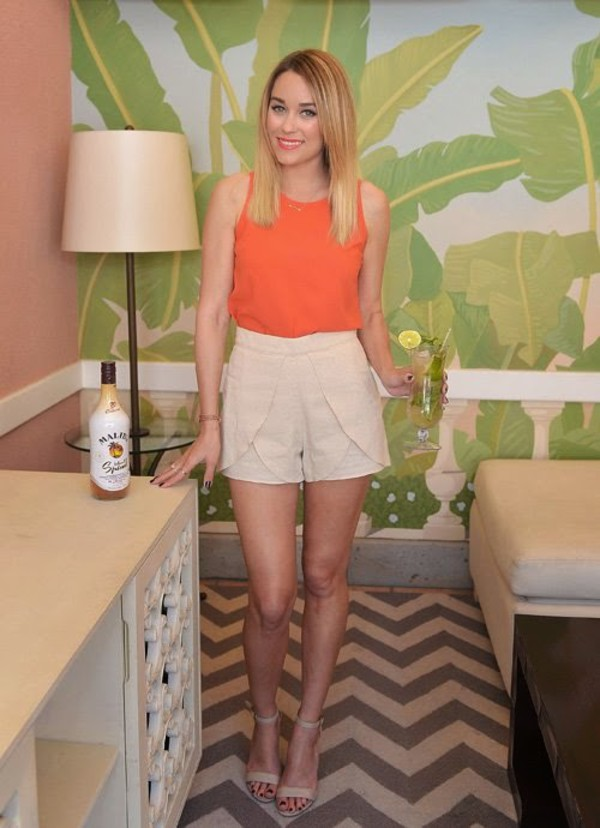 shorts lauren conrad top