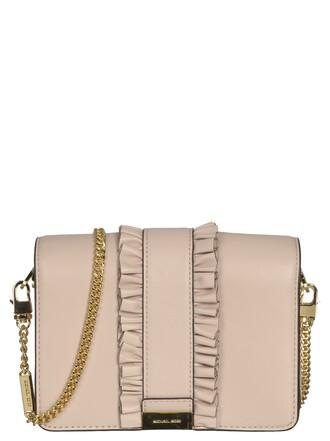 bag shoulder bag soft pink
