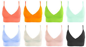 Ladies womans textured bra let style party top