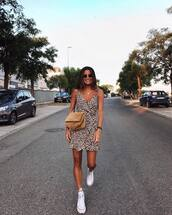 bag,crossbody bag,suede bag,chuck taylor all stars,mini dress,animal print,sunglasses