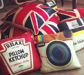 home accessory pillow home swag pillow food instagram