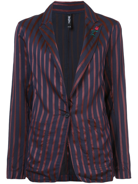 Adam Selman blazer women blue jacket
