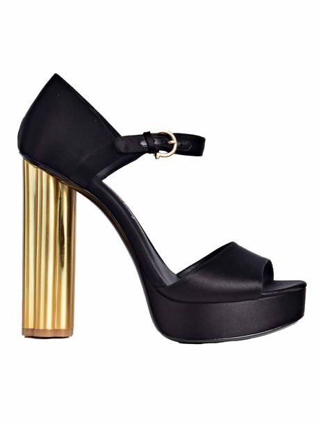 classic sandals black shoes