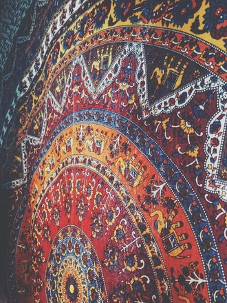 pattern tapestry elephant