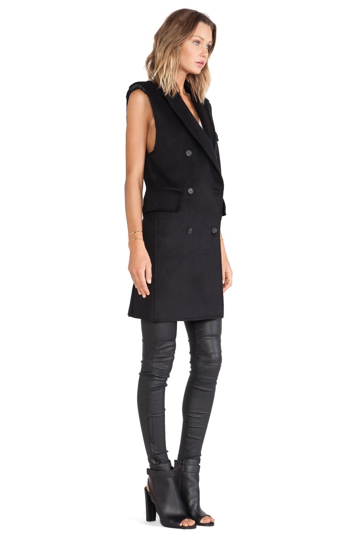 Blq basiq sleeveless jacket in black from revolveclothing.com
